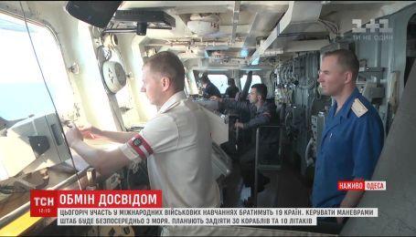 Во время военных учений Sea Breeze штаб впервые будет управлять маневрами с моря