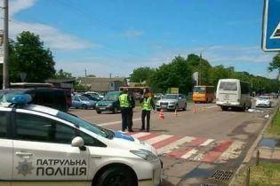 Прокуратура передала до суду обвинувачення щодо водія, який на смерть збив дівчинку у Борисполі