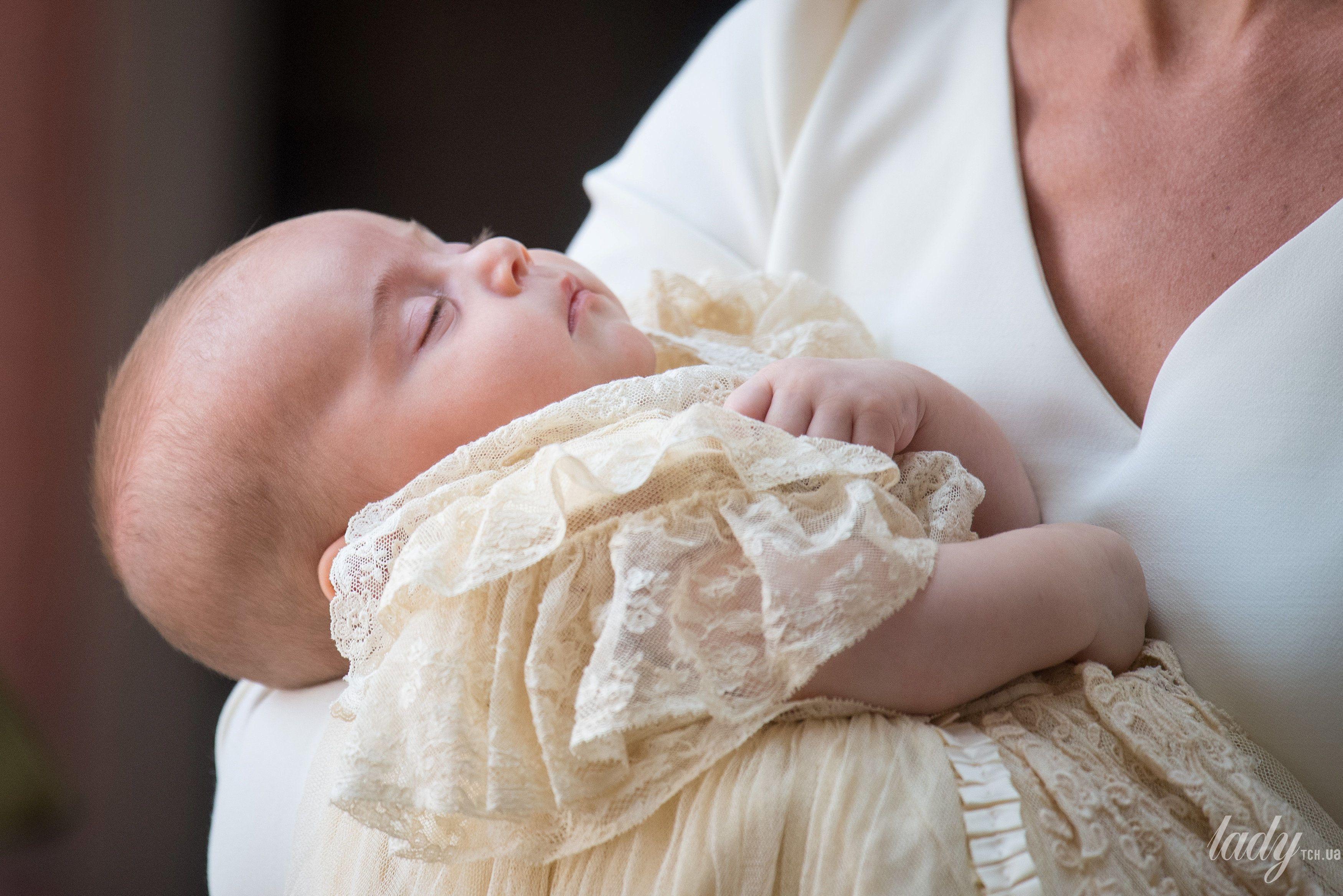 Герцогиня Кембриджская с принцем Луи_2