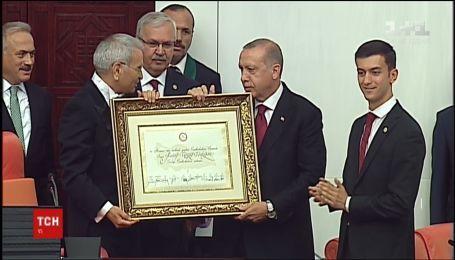 Ердоган офіційно вступив на посаду президента Туреччини