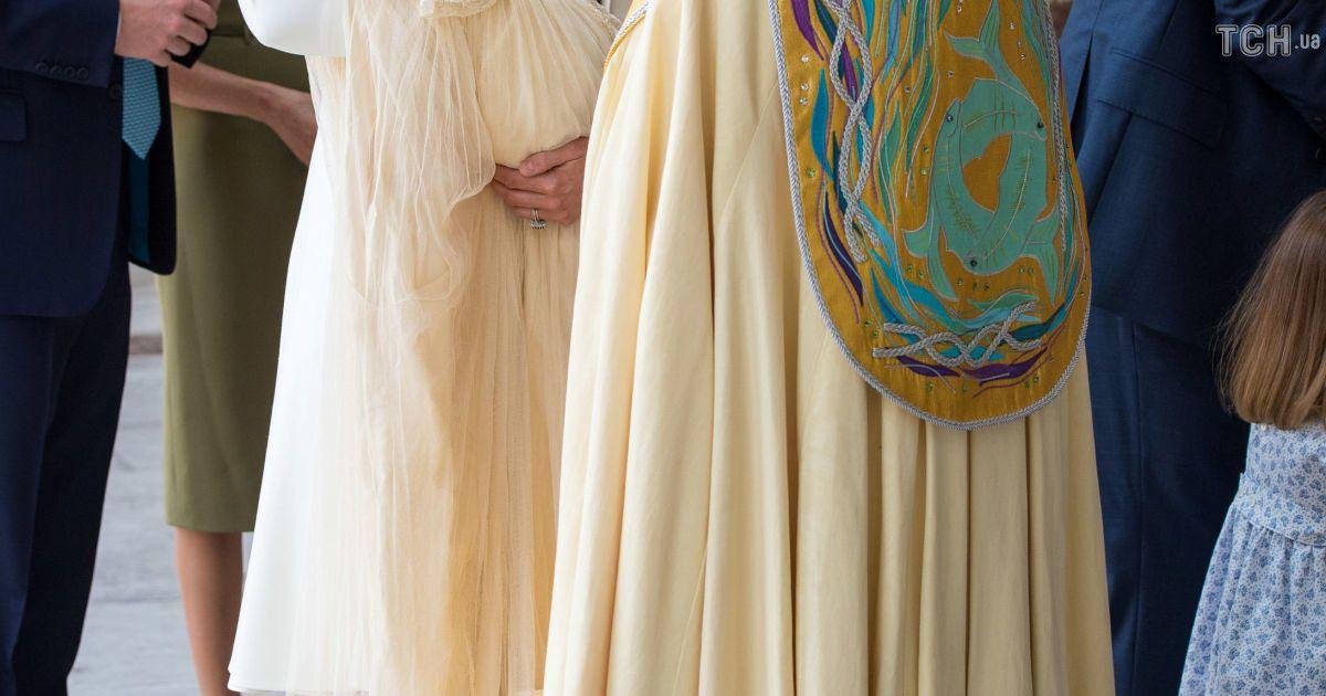 Кейт Миддлтон и архиепископ Кентерберийский Джастин Велбі @ Reuters