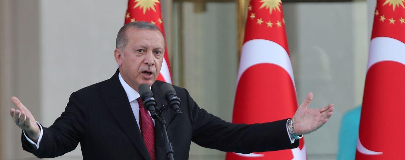 Ердоган закликав турків продавати долари і золото заради порятунку ліри
