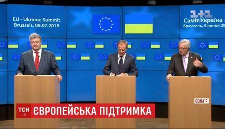 У Брюсселі відбувся 20-й саміт Україна-ЄС