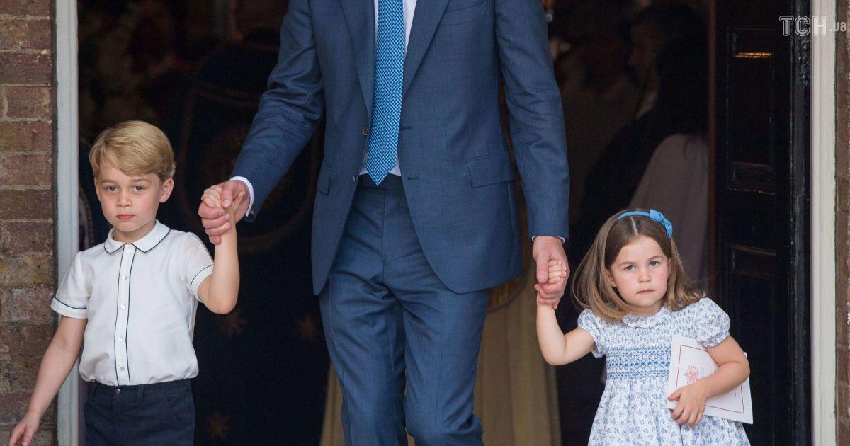 Принц Уильям с детьми @ Reuters