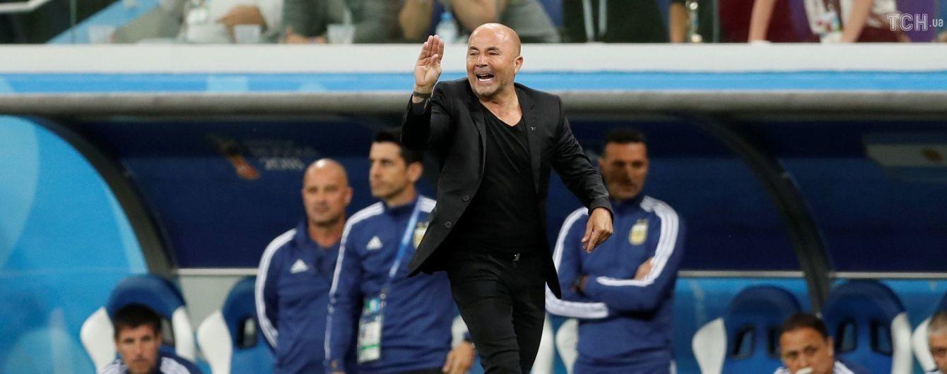Тренер сборной Аргентины продолжит работу с командой, несмотря на провал на ЧМ-2018