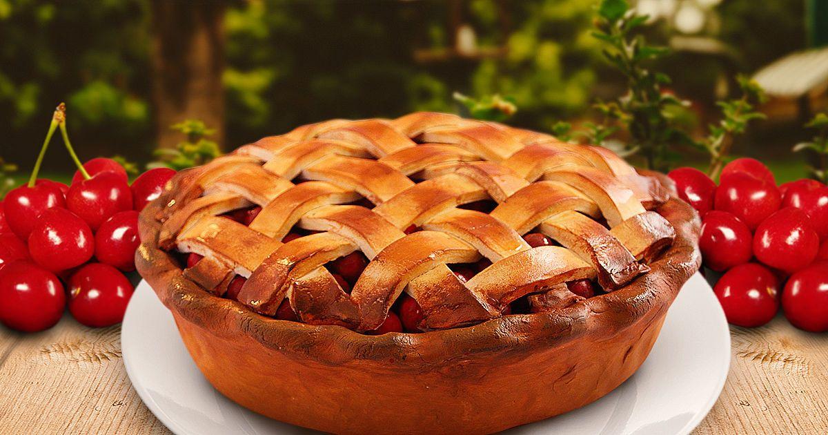 Класичний американський вишневий пиріг
