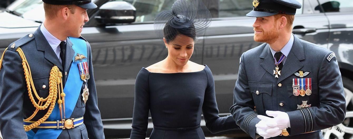 У чорній сукні від Dior: герцогиня Сассекська Меган знову здивувала вибором вбрання