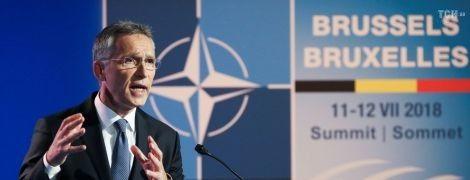 Столтенберг хоче більше практичної підтримки від НАТО для України та Грузії