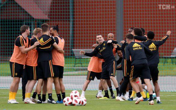 Футболісти збірної Бельгії