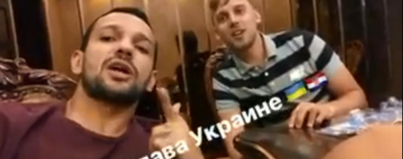 """Бразилец Матеус записал видео """"Слава Украине"""""""