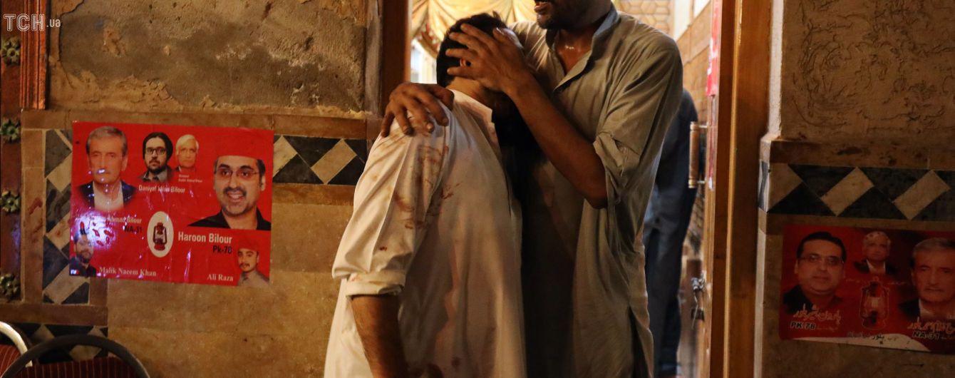 У Пакистані унаслідок терактів загинуло понад 130 осіб