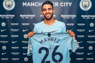 """Манчестер Сити"" установил трансферный рекорд, подписав алжирца за 60 миллионов фунтов"