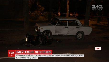Два мотоциклиста погибли в ДТП в Харькове