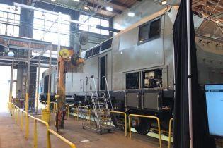 Первый локомотив General Electric прибыл в Украину. Онлайн