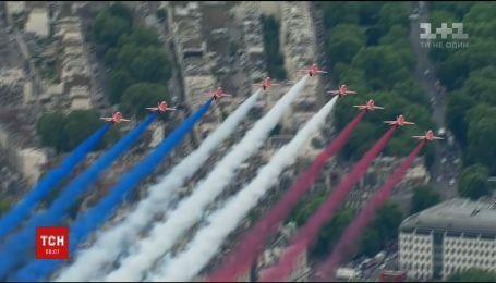 В Лондоне отметили столетний юбилей Военно-воздушных сил