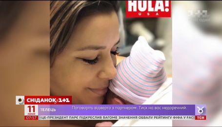 Ева Лонгрия показала свои первые фото после родов