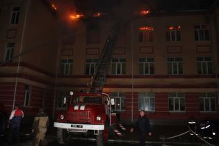 В Одесской области назвали причину пожара в школе