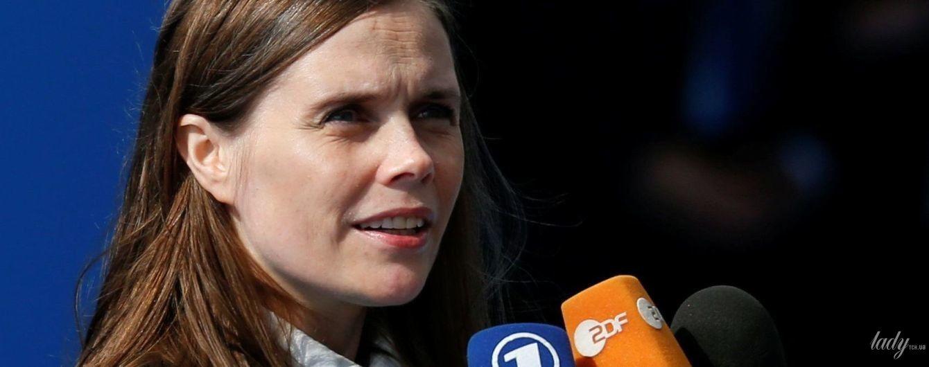 В черно-белом образе: премьер-министр Исландии Катрин Якобсдоттир на саммите НАТО