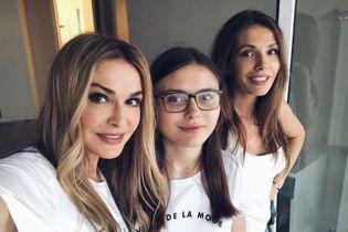 Ольга Сумская показала, как отпраздновала первый день рождения внучки