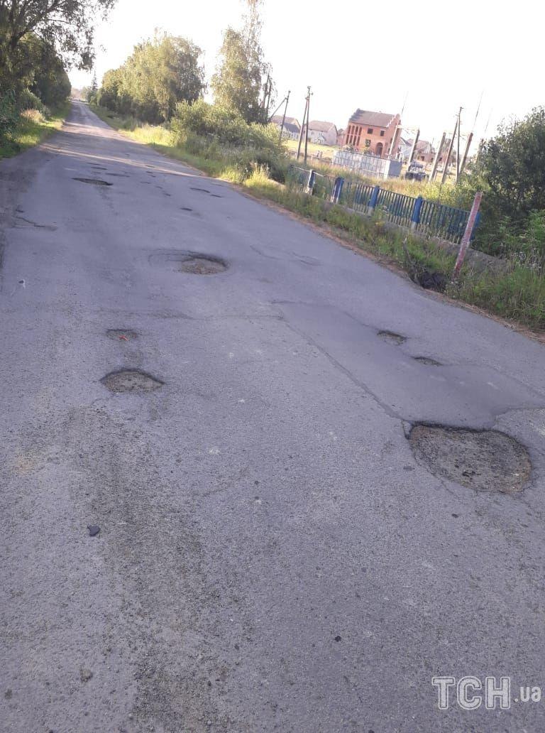 Село Ланівка, дорога, птахофабрика_3
