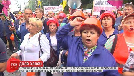 Украинцы могут остаться без питьевой воды из-за цены на газ