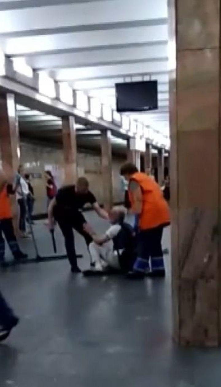 Полицейскому, который в метро избил мужчину дубинкой, готовят подозрение
