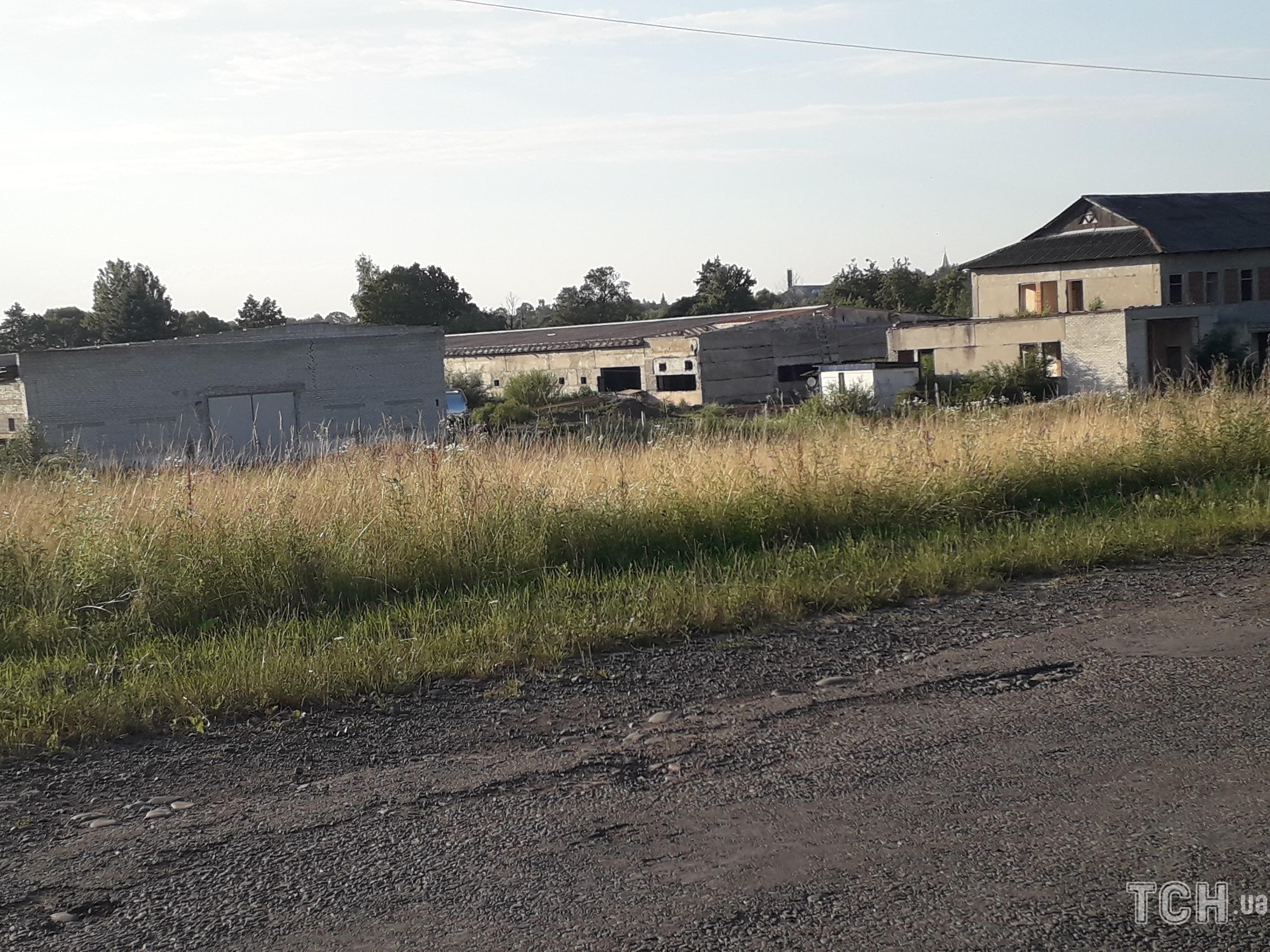 Село Ланівка, дорога, птахофабрика_2