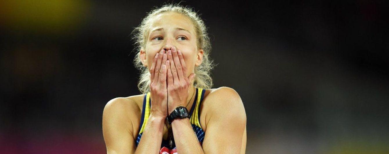 Украинская легкоатлетка Шух триумфовала на чемпионате мира в неосновной для себя дисциплине