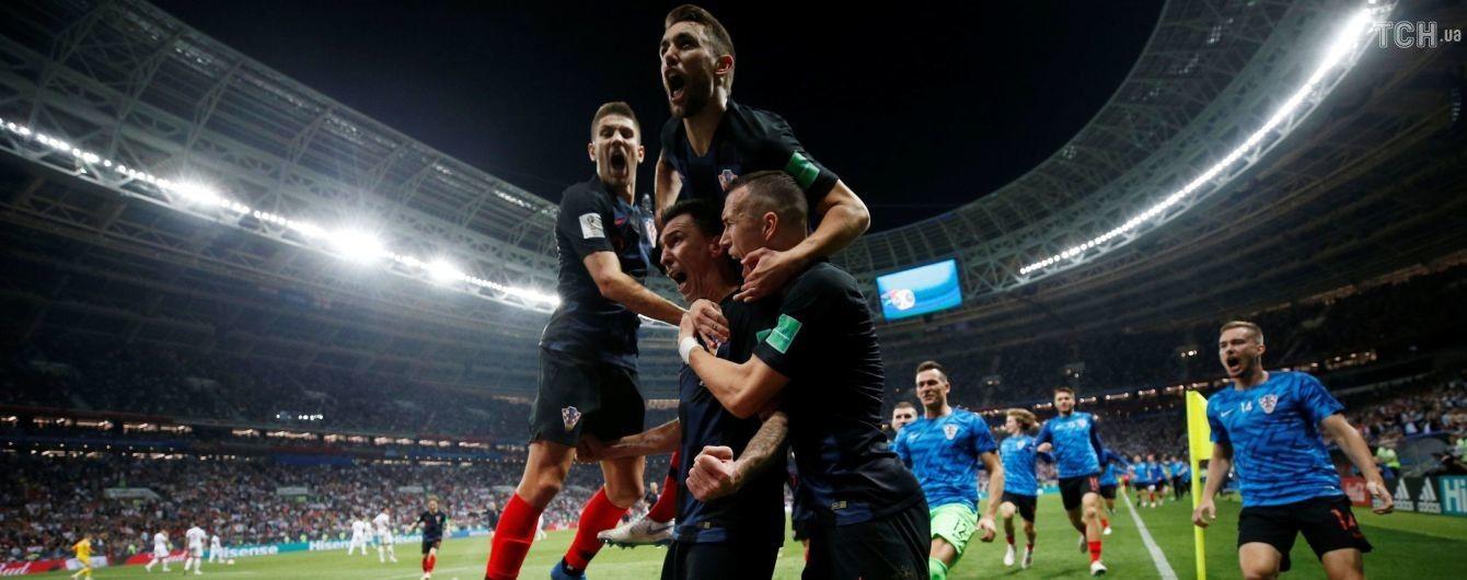 Хорватія перемогла Англію і вперше в історії вийшла у фінал Чемпіонату світу