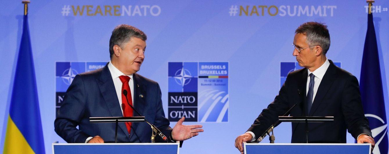 Порошенко назвал дату достижения Украиной всех стандартов НАТО
