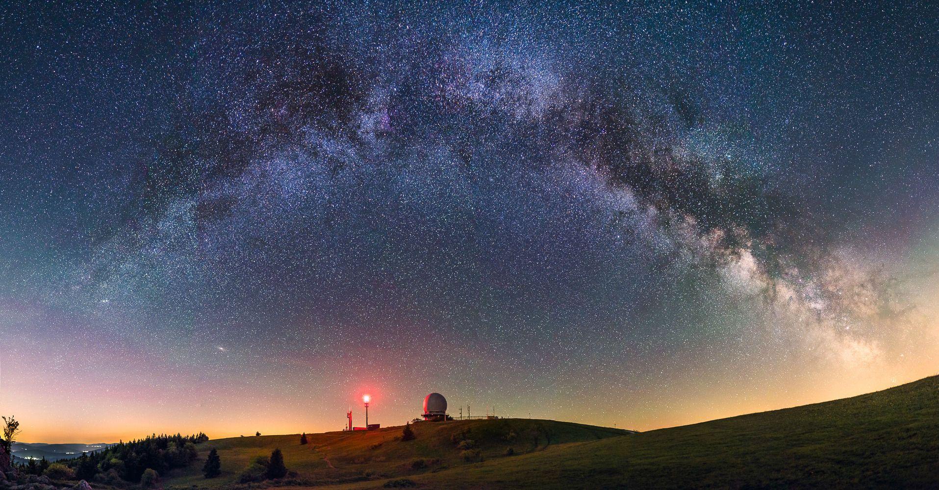 Зоряне небо, обсерваторія