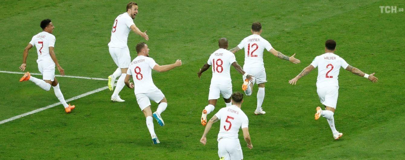 Ляп года: футболисты сборной Англии побежали забивать, пока хорваты праздновали с фанатами