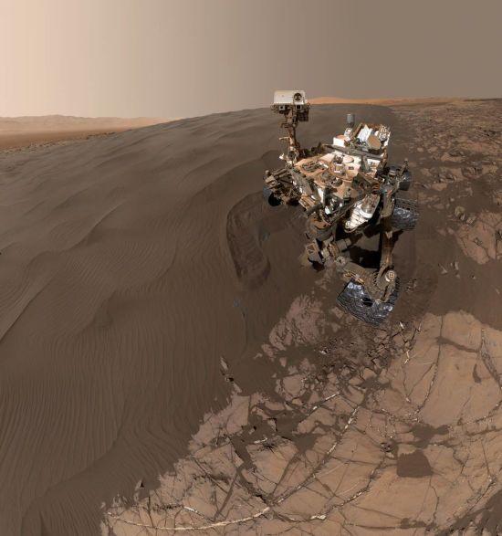 """На Червоній планеті """"прокинувся"""" марсохід Curiosity"""