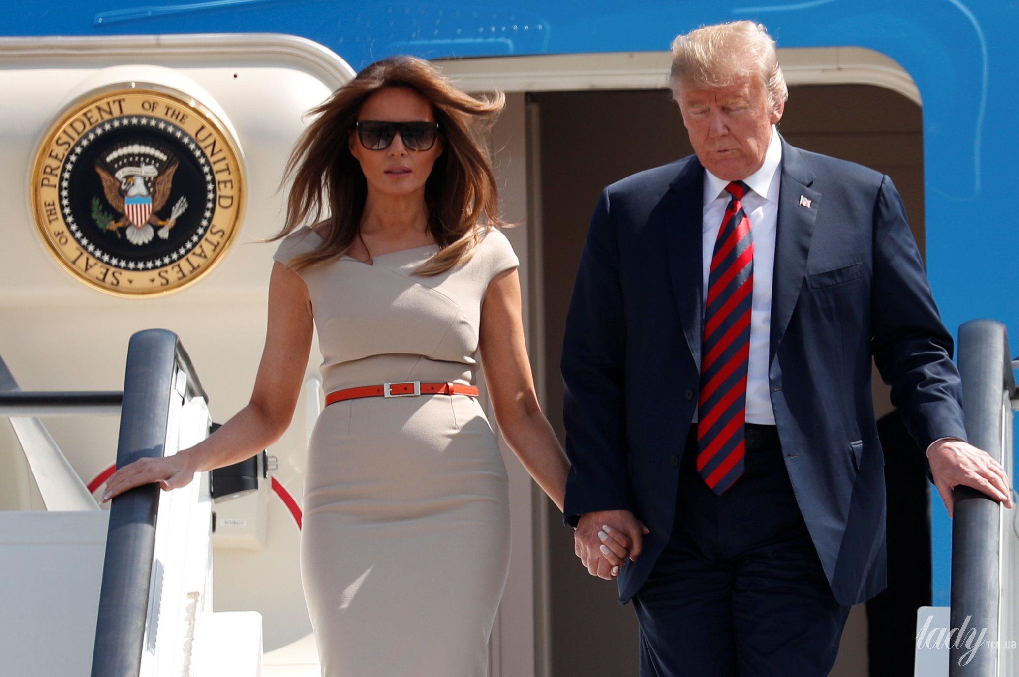 Мелания Трамп и Дональд Трамп_5