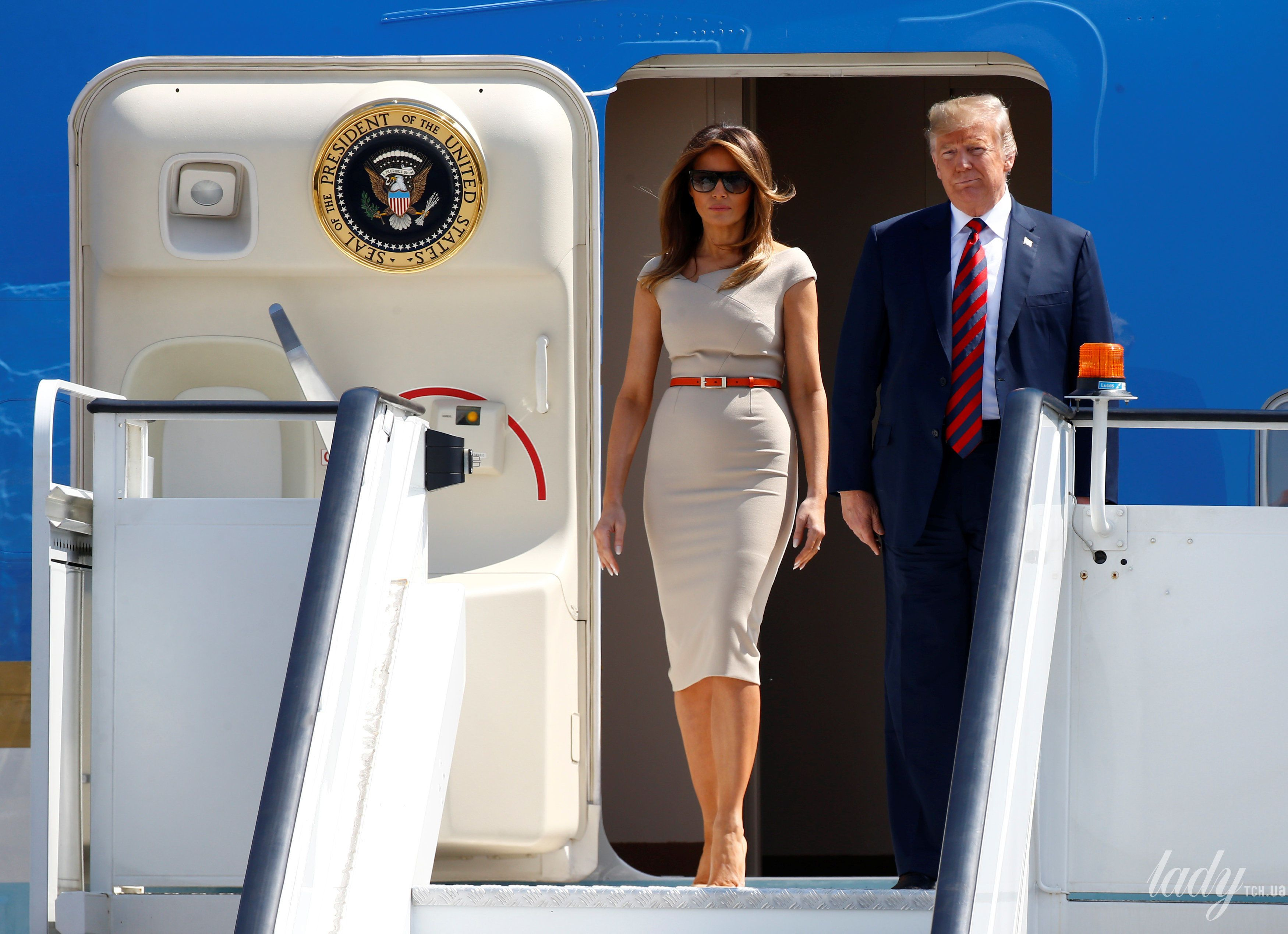Мелания Трамп и Дональд Трамп_1