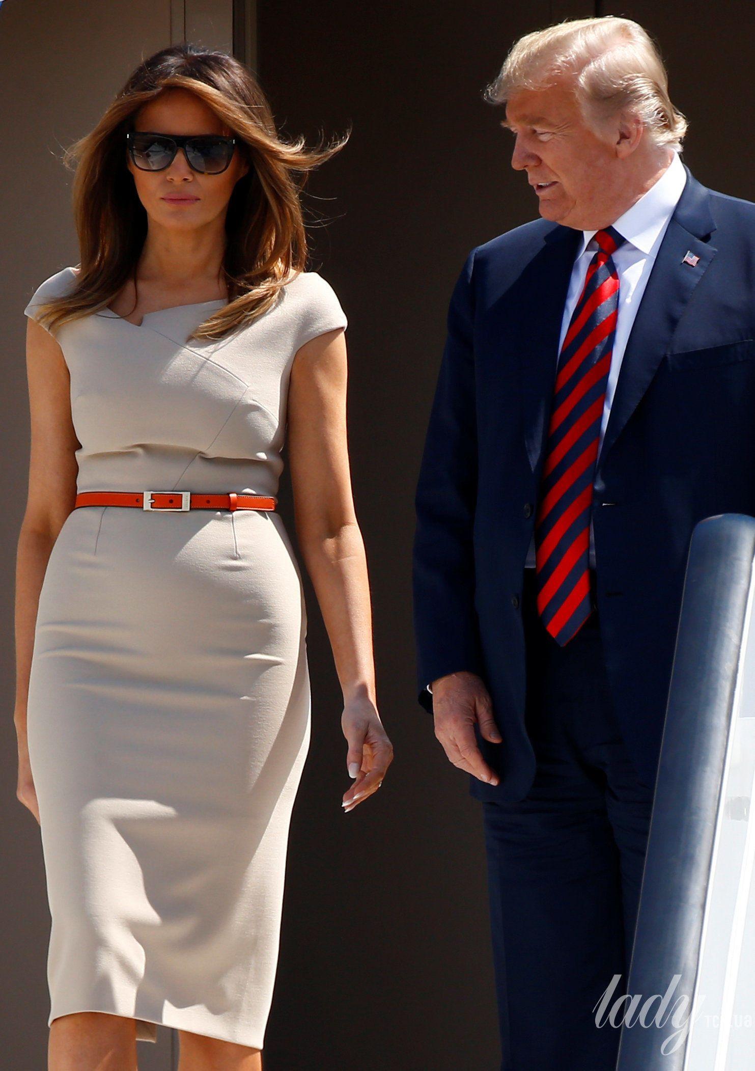 Мелания Трамп и Дональд Трамп_2