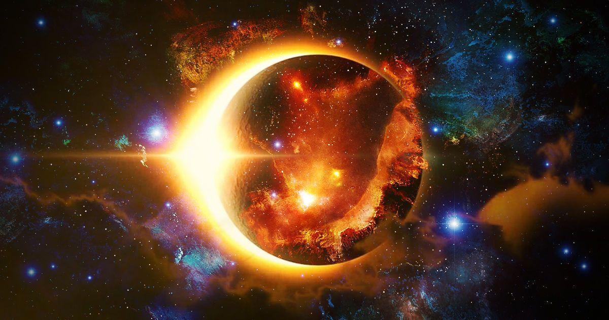 Сонячне затемнення, для блогів