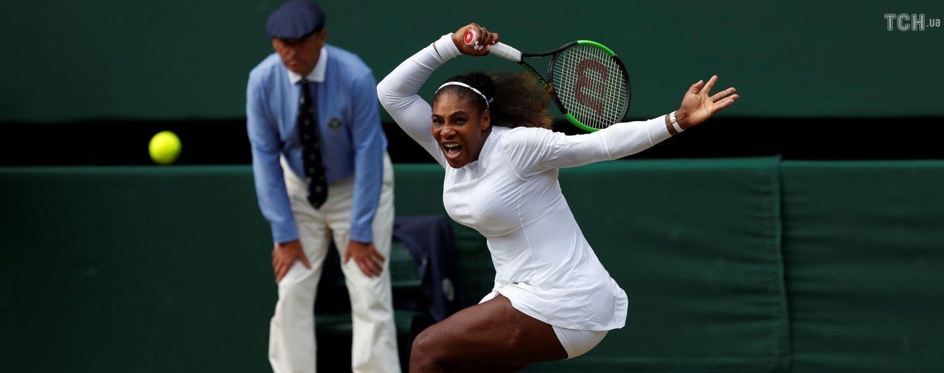 Серена Уильямс вышла в финал Wimbledon-2018 и может побить еще один рекорд Штеффи Граф