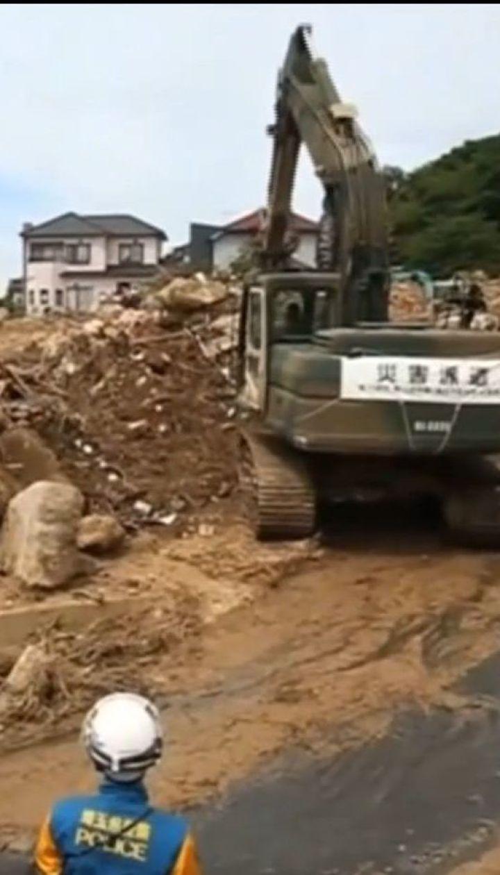 В Японии растет число жертв масштабного наводнения