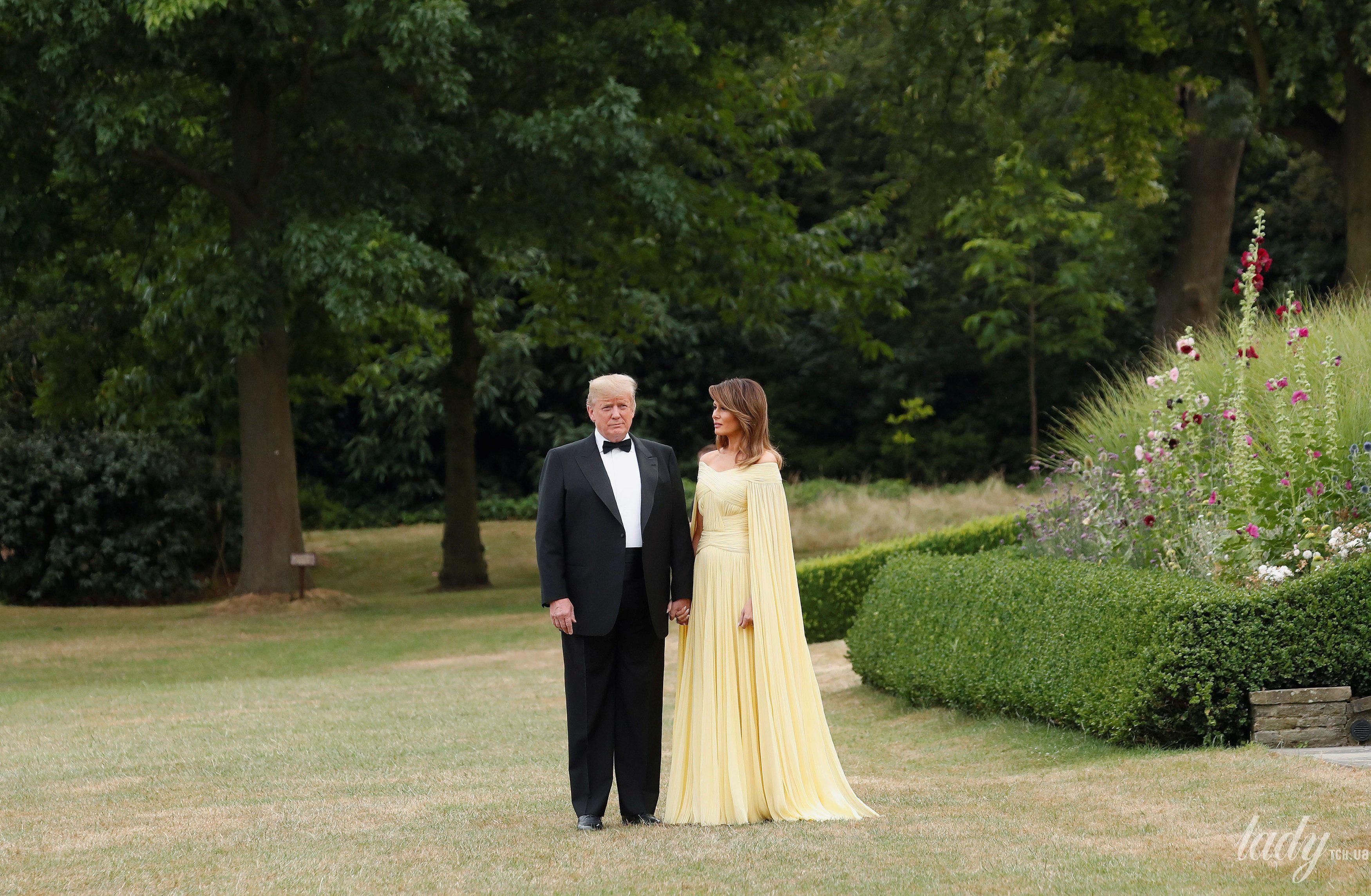 Мелания Трамп и Дональд Трамп_6