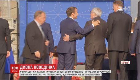 Журналисты заметили странное поведение президента Еврокомиссии