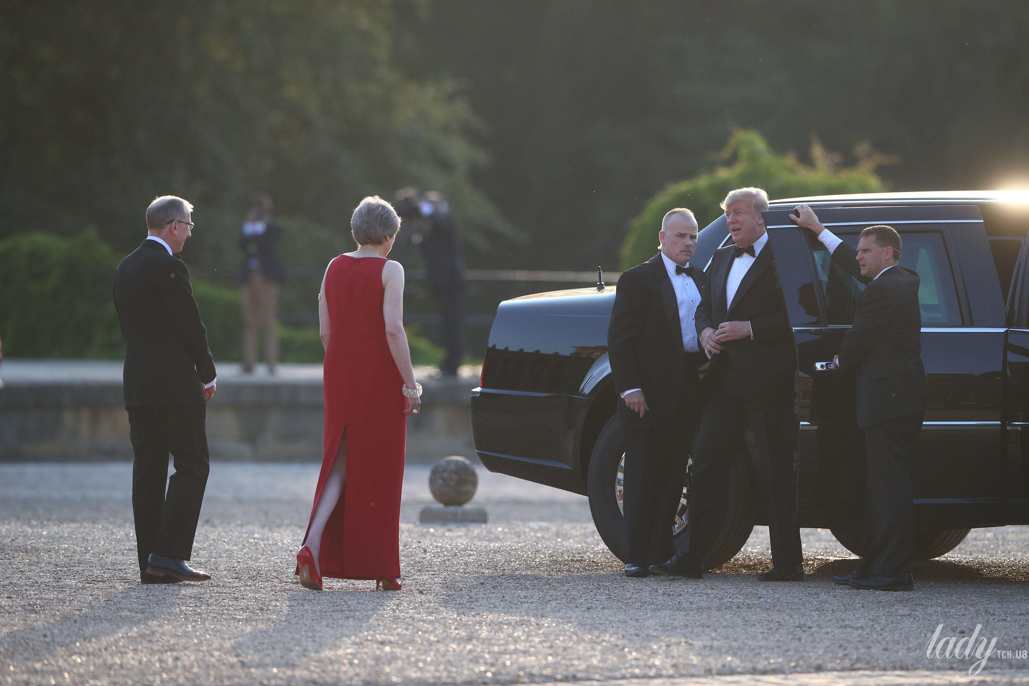Тереза Мэй на встрече Трампами_8