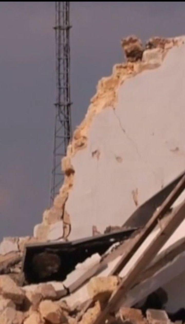 На території Одеського гідрометцентру стався вибух