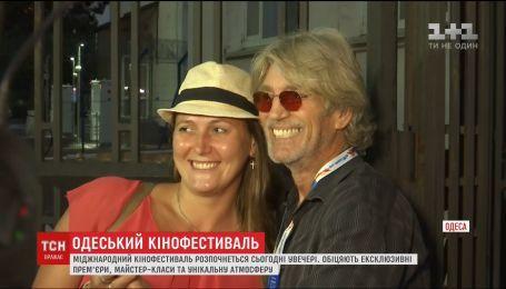 Актер Эрик Робертс посетил Одесский международный кинофестиваль