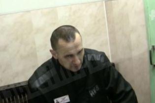 В Сети обнародовали первые кадры с Сенцовым после объявления голодовки