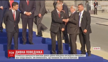 На саммите НАТО президент Еврокомиссии едва держался на ногах
