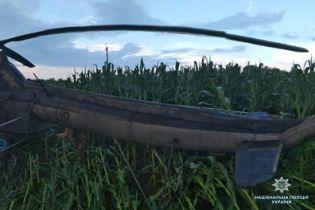 На Чернігівщині гелікоптер зачепив лінії електропередач та знеструмив п'ять сіл
