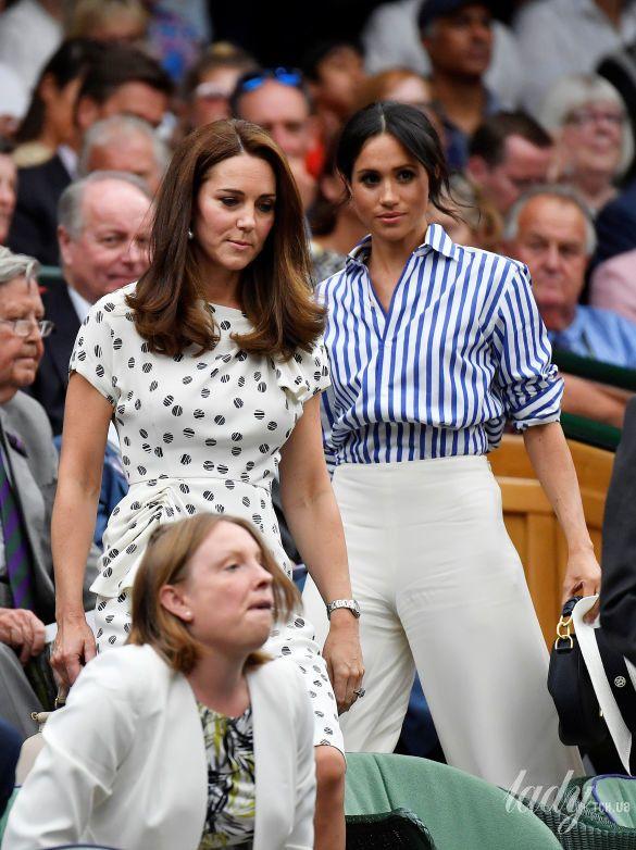 Герцогиня Кембриджская и герцогиня Сассекская_2