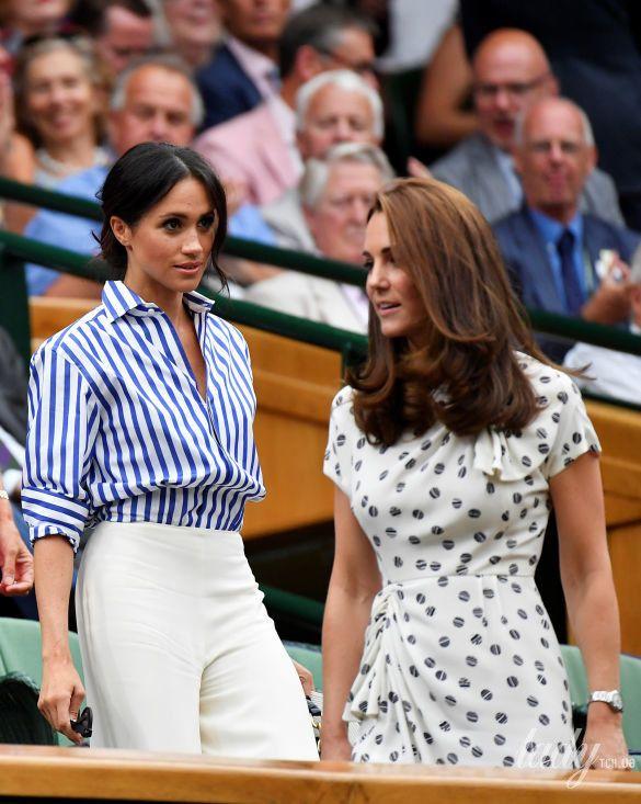 Герцогиня Кембриджская и герцогиня Сассекская_3