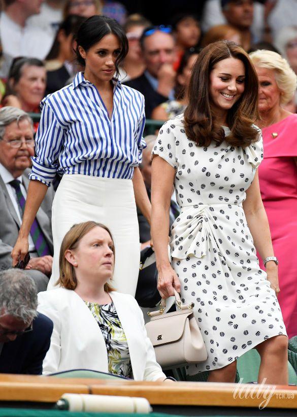 Герцогиня Кембриджская и герцогиня Сассекская_1